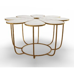 Darla Coffee Table with Tray Top by Everly Quinn