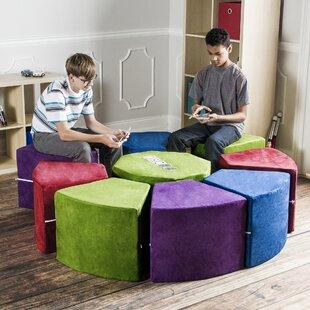 Big Save Jaxx Octagon Arrangement 9 Piece Soft Seating by Jaxx