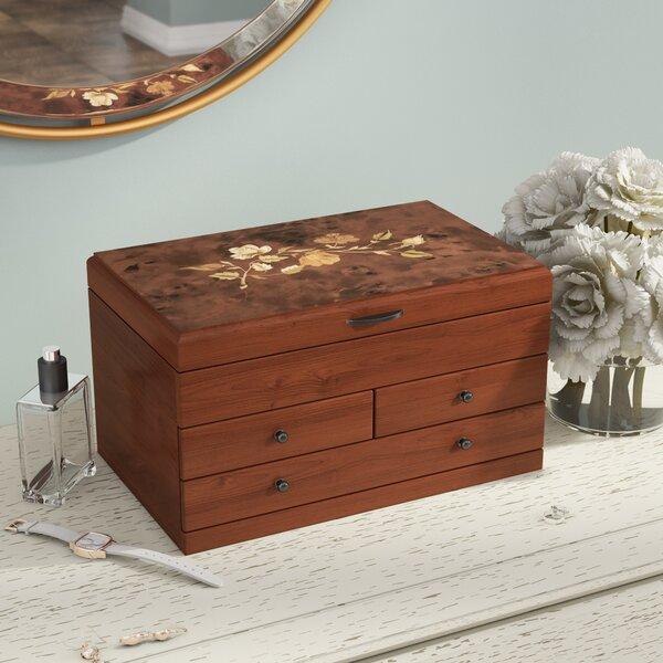 Reclaimed Wood Jewelry Box Wayfair