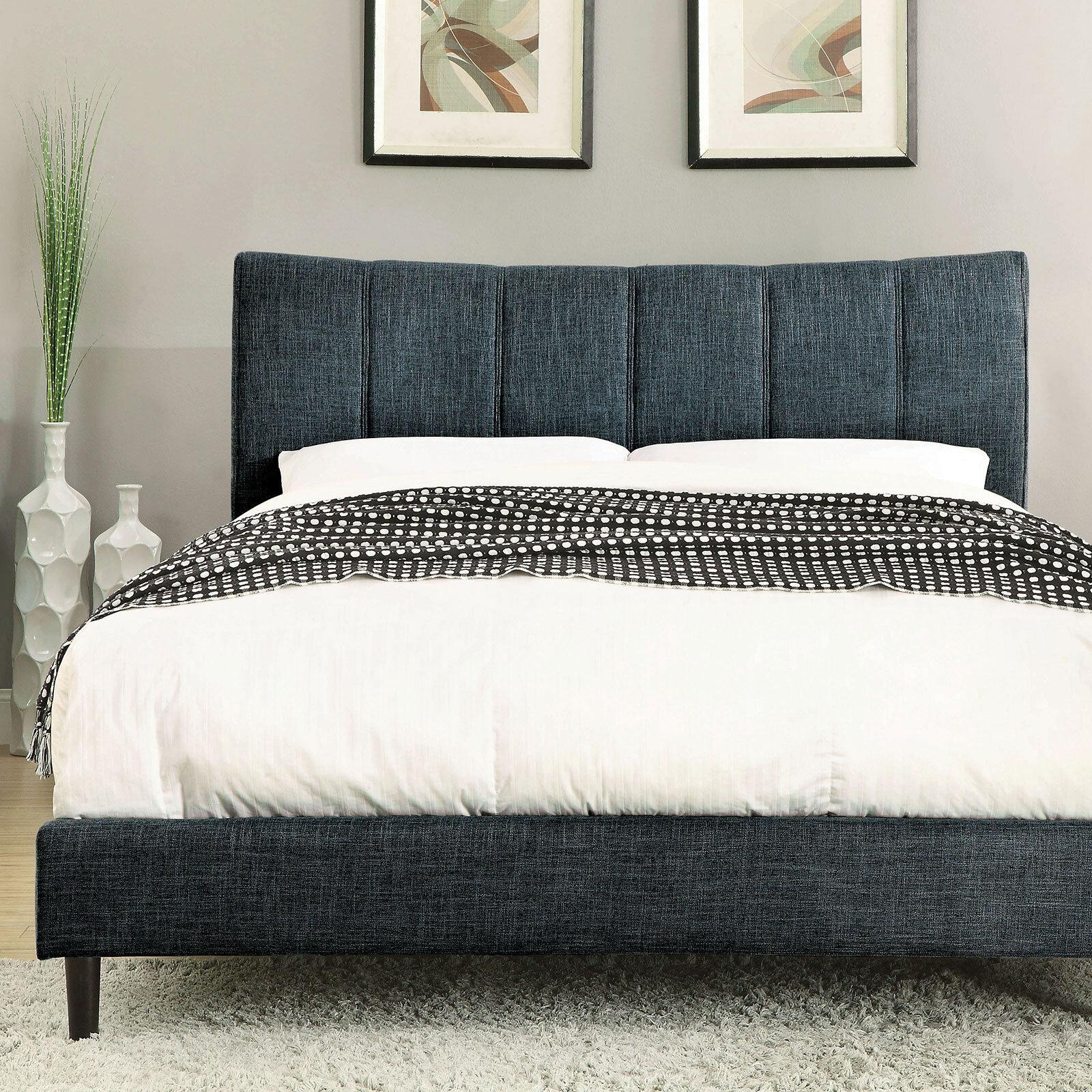 Ivy Bronx Kesha Upholstered Platform Bed Wayfair