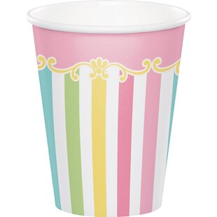 Carousel Paper Disposable Cup (Set of 24)