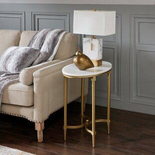 Reviews Bordeaux End table By Madison Park Signature