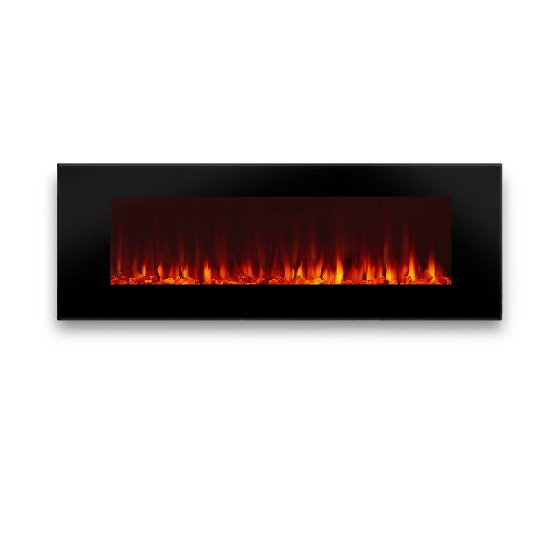 Real Flame DiNatale Wall Mount Electric Fireplace & Reviews | Wayfair