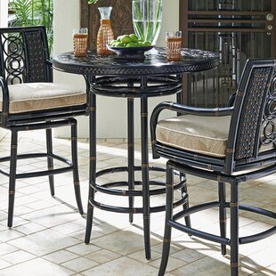 Marimba Metal Bistro Table by Tommy Bahama Outdoor