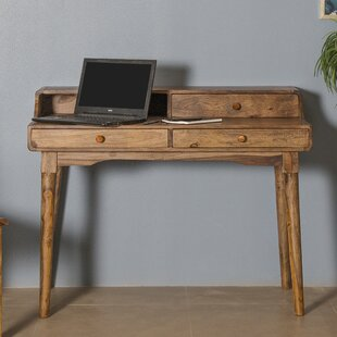 Glenmore 3 Drawer Writing Desk by Foundry Select Looking for