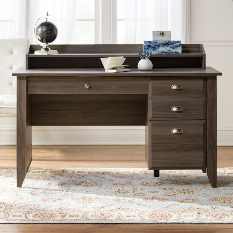 Andover Mills Revere Computer Desk With Hutch Amp Reviews