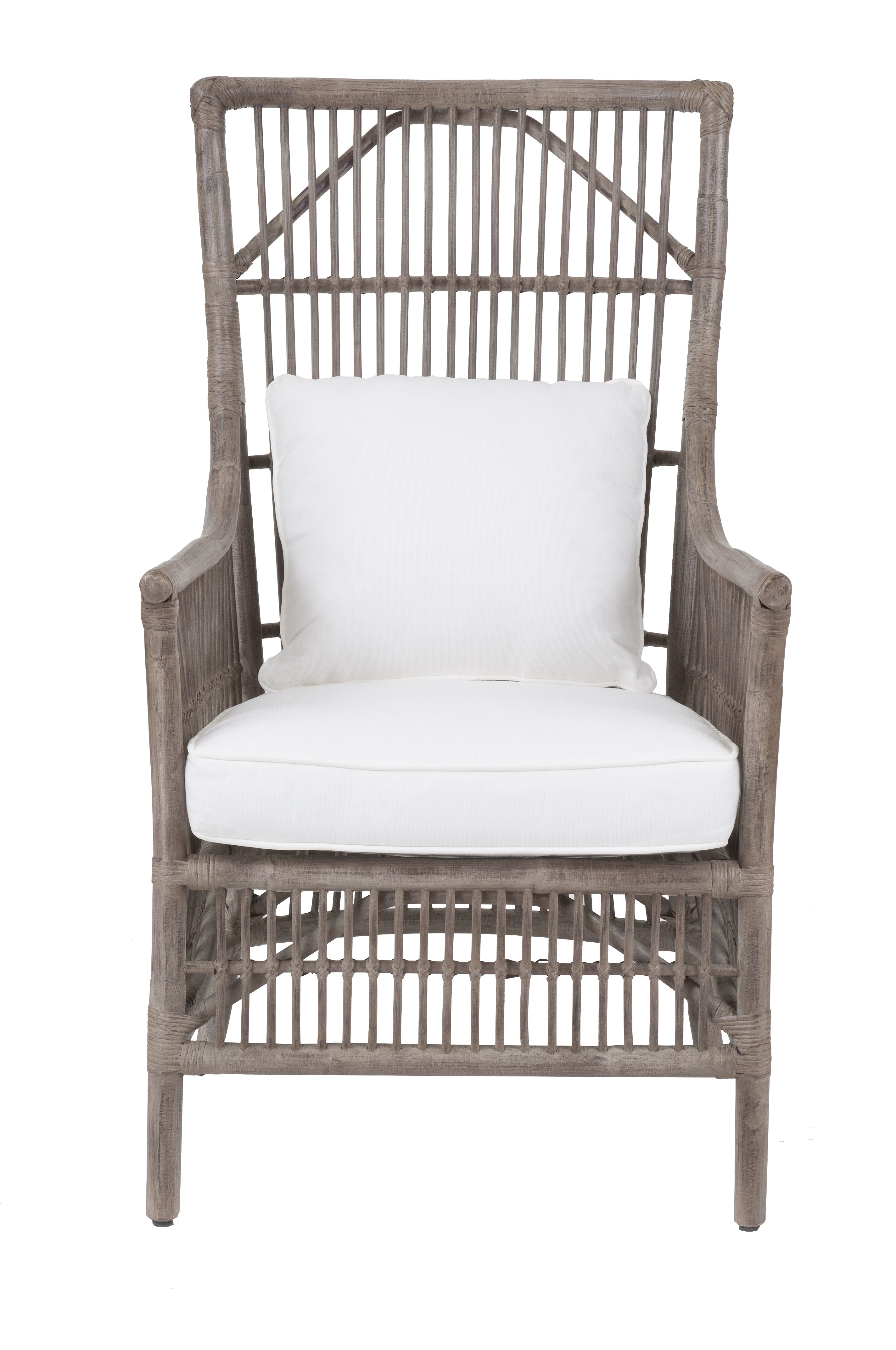 Beachcrest Home Eldora High Back Armchair