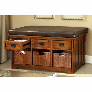 Wiggin Wood Storage Bench