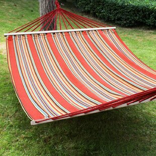 Adeco Trading Double Tree Hammock with Stand