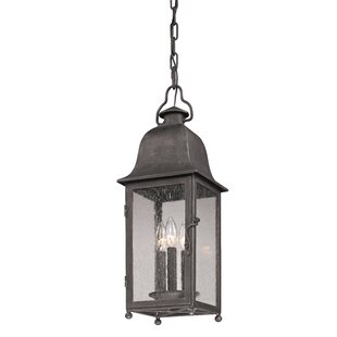 Darby Home Co Susannah 3-Light Outdoor Hanging Lantern