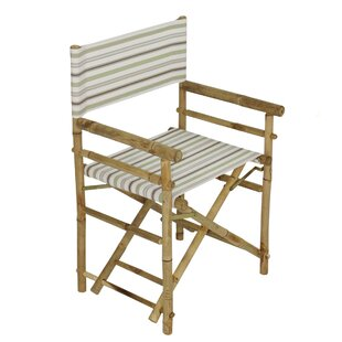 Yohana Bamboo Director Chair by Bayou Breeze