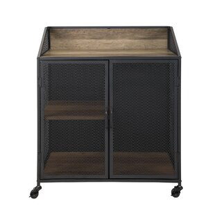 Bowles Bar Cabinet with Mesh