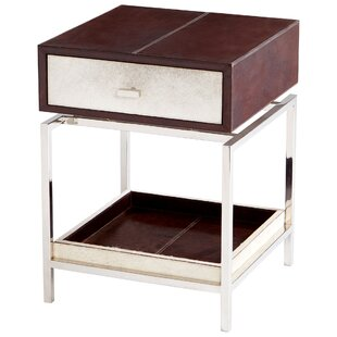 Curtis End Table with Storage