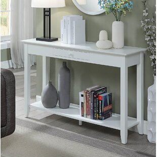 White Wood Console Tables You\'ll Love | Wayfair