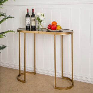 Terwilliger Mirrored Console Table by Mercer41