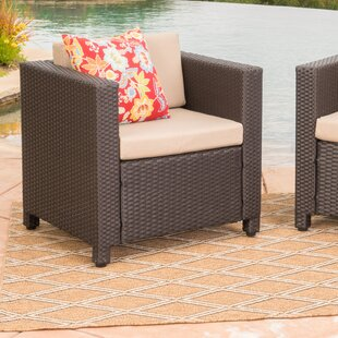 Calliope Outdoor Wicker Club Chair