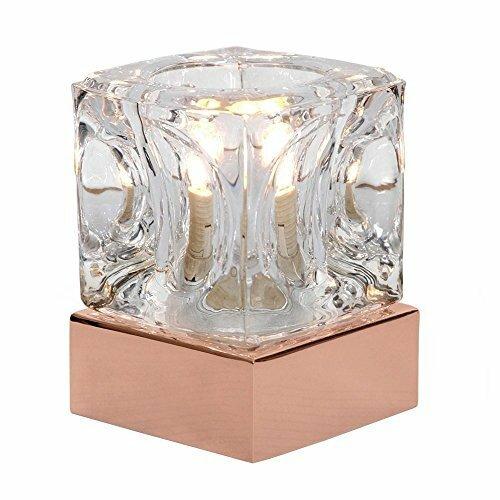 Minisun ice cube 10cm table lamp reviews wayfair ice cube 10cm table lamp aloadofball Choice Image