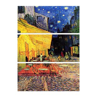 Alte Meister Vincent van Gogh Kunstdruck Boote am Ufer der Oise