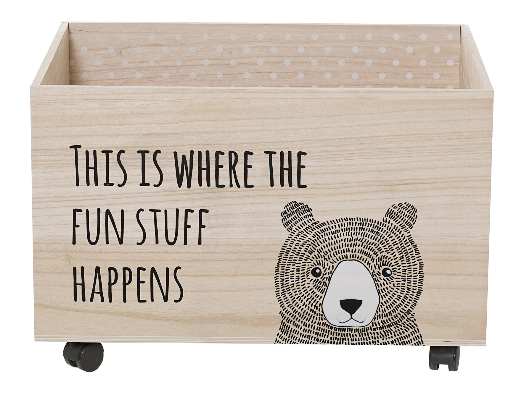 Excellent Viv + Rae Lena Toy Box with Wheels & Reviews | Wayfair EH38