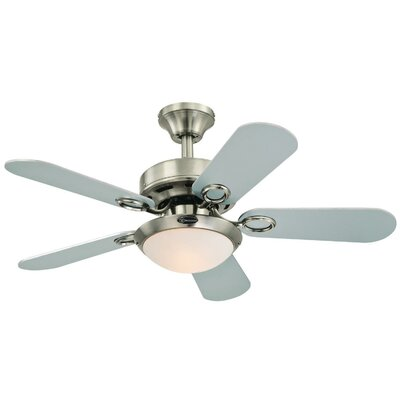 Andover mills 36 birchwood two light reversible 5 blade indoor 36 birchwood two light reversible 5 blade indoor ceiling fan aloadofball Image collections