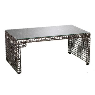 Akersville Woven Coffee Table by World Me..