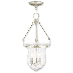 Darby Home Co Bachmann 3-Light Urn Pendant