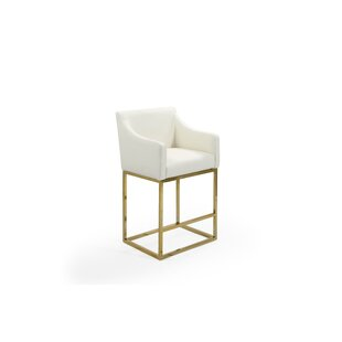 Kevin 25.25'' Bar Stool by Everly Quinn
