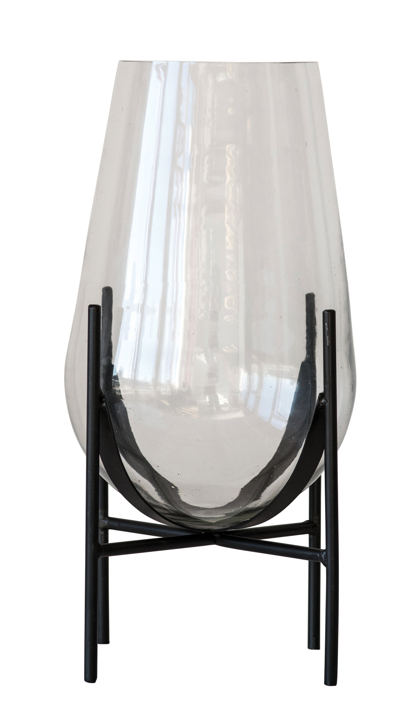 Bloomingville Clear 15 75 Glass Table Vase Perigold