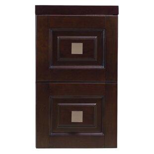 Affordable Oreland Transitional Birch Wood-Veneer Modular 2-Drawer Storage Chest ByRoyal Purple Bath Kitchen