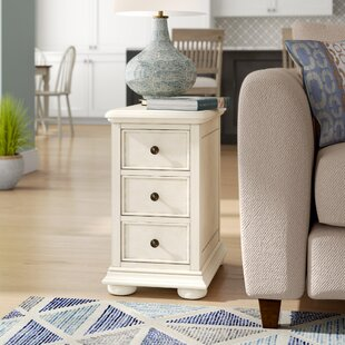 Clearance Dania Beach End Table with Storage By Beachcrest Home