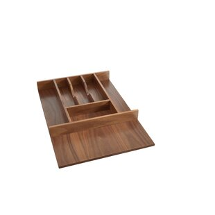 Rev-A-Shelf Small Walnut Cutlery 22