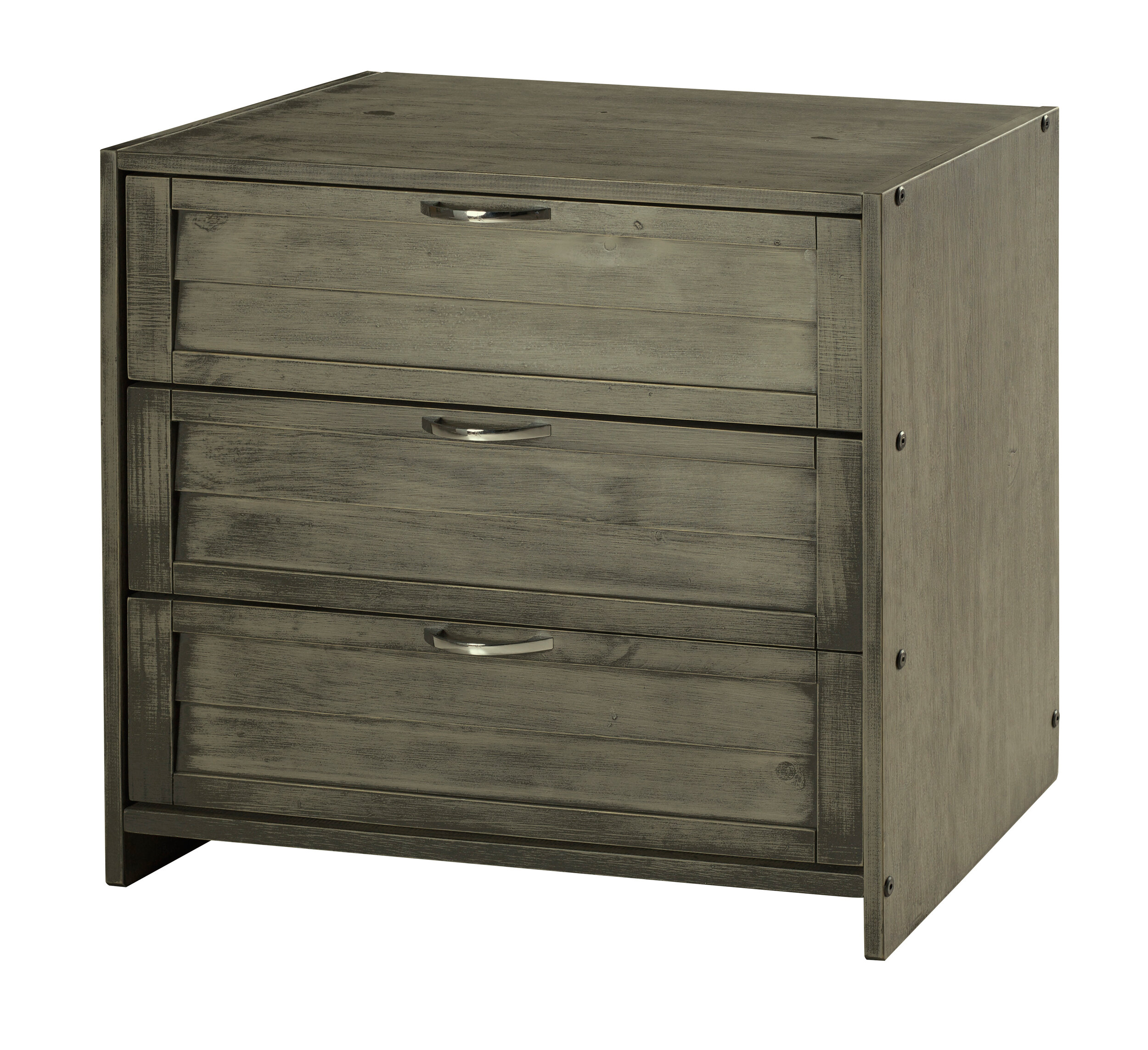 Harriet Bee Felecia 3 Drawer Dresser