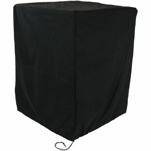 Freeport Park Heavy Duty Square Black Fire Pit Cover