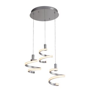 Gabrielle 3-Light LED Pendant by Orren Ellis