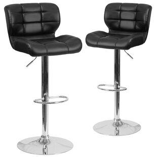 Superb North Widcombe Adjustable Height Swivel Bar Stool Set Of 2 Andrewgaddart Wooden Chair Designs For Living Room Andrewgaddartcom