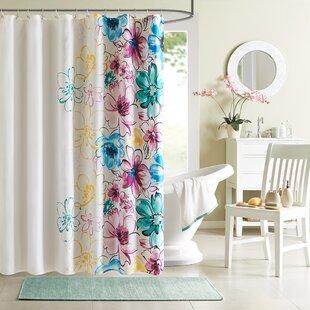 Compare & Buy Hernadez Microfiber Shower Curtain ByViv + Rae