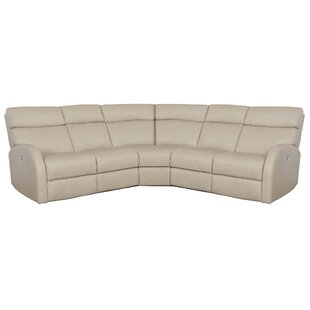 Shop Clemens Leather Reclining Sectional by Bernhardt