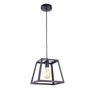 Poston 1-Light Lantern Pendant by Willist..