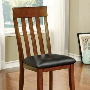 Quinlan Upholstered Dining Chair (Set of 2) Alcott Hill