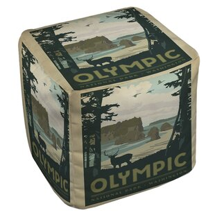 Manual Woodworkers & Weavers Olympic Pouf