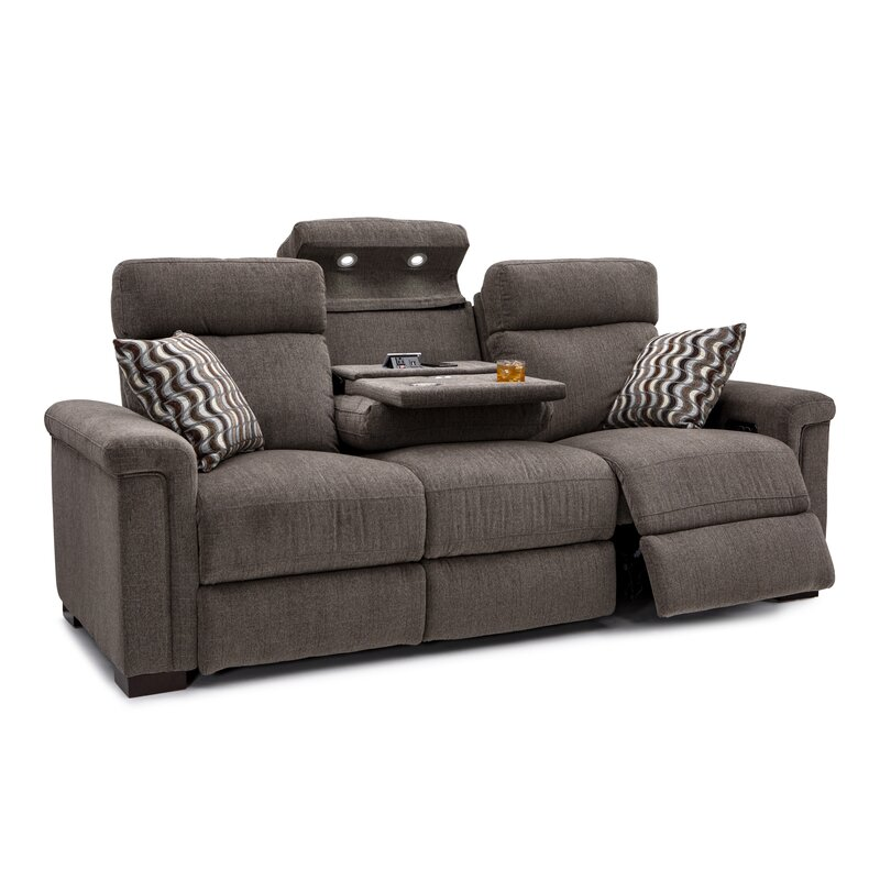 Reclining Home Theater Sofa