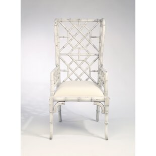 Hallam Chinese Chippendale Wingback Chair