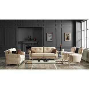 Chidi 4 Piece Living Room Set by Rosdorf Park