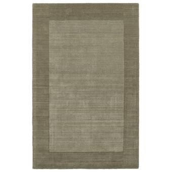 George Oliver Truro Geometric Handmade Tufted Wool Gray Area Rug Reviews Wayfair