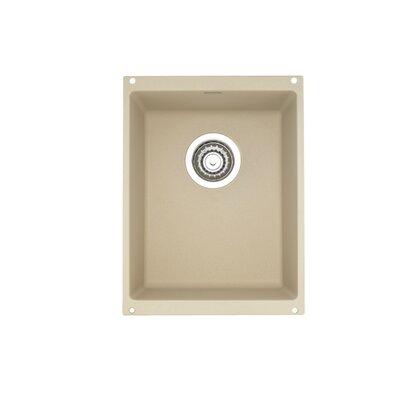 Precision 13.75 L x 18 W Kitchen Sink Blanco Color: Biscotti