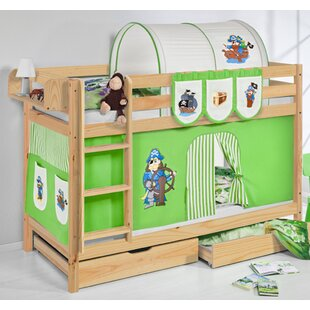 Belle European Single Bunk Bed With Drawers By Zoomie Kids