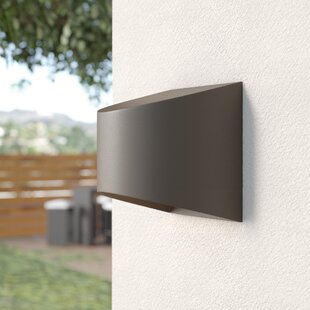 Wesley 1 Light Outdoor Flush Mount by Kichler