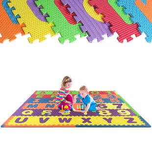 Best Choices Puzzle Letters and Numbers Exercise Floor Mat ByWEISSER TOYS