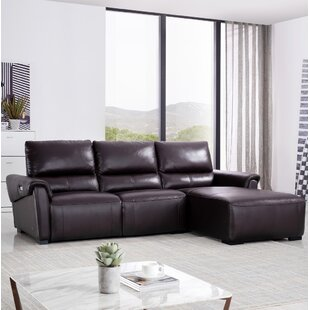 Shop Minnich Reclining Sectional by Latitude Run