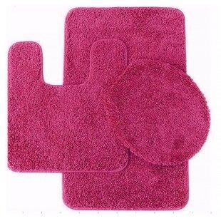 Pink Bathroom Rug Sets | Wayfair